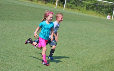 Soccer Camp Action