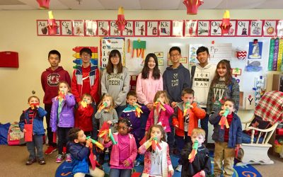 Class Celebrates the Chinese New Year