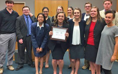 Congratulations to the Mock Trial teams!