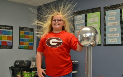 Mad Scientist visit 5th graders