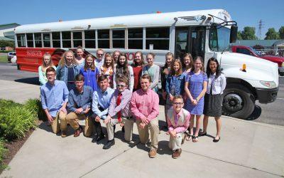 2017 Middle School Chorus Spring Tour