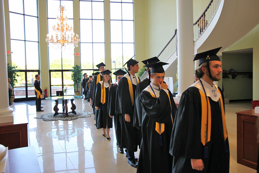 GCS 2017 Senior Class graduation