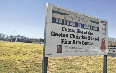 Gaston Gazette article for Fine Arts Building